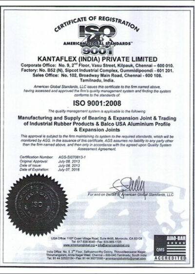 Kantaflex-ISO9001